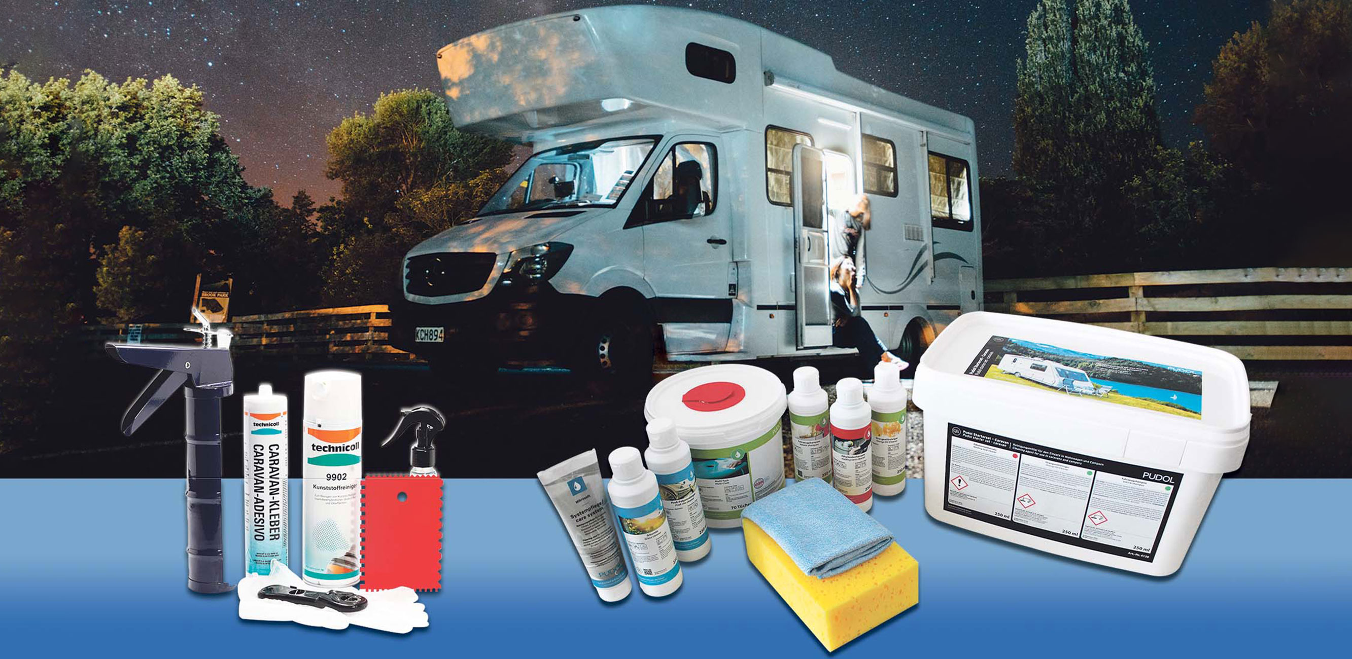 Caravan Reparatur-Set von technicoll®